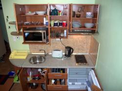 Plne vybavená kuchyňka